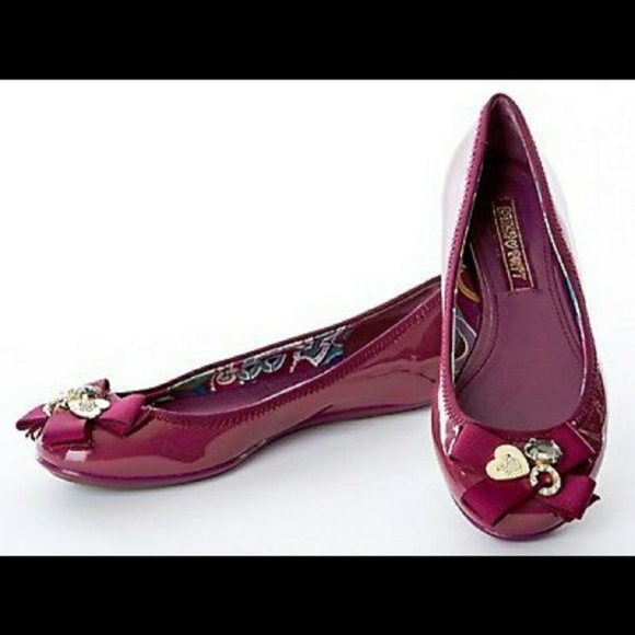Coach Shoes - Coach Poppy Caper Bow Charm Flats